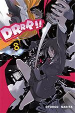 Durarara!! #8 (Okładka Japońska)