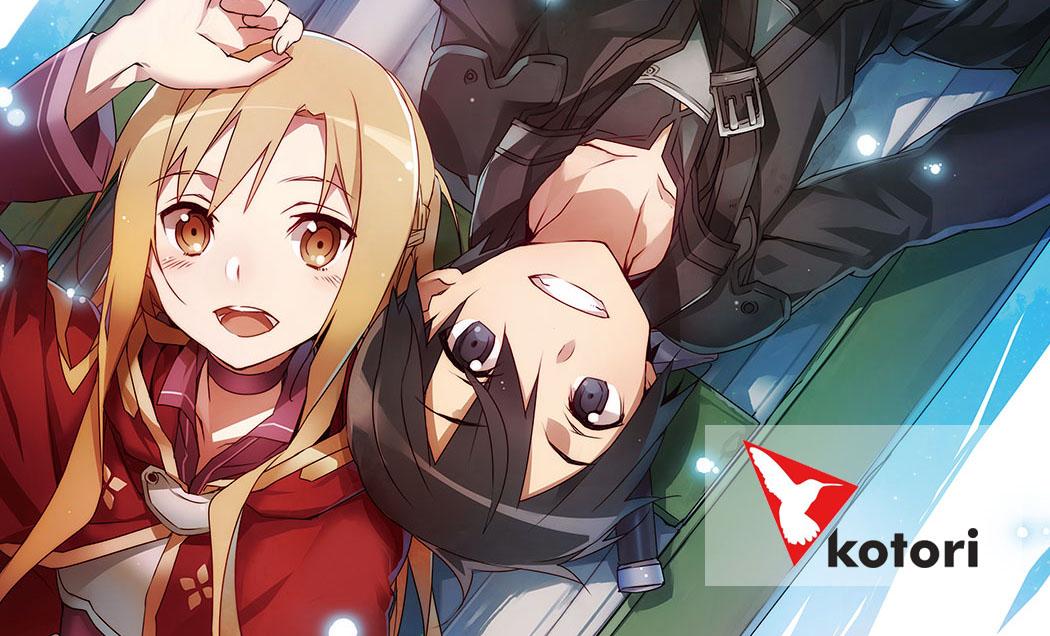 Kotori zapowiada Sword Art Online: Progressive!