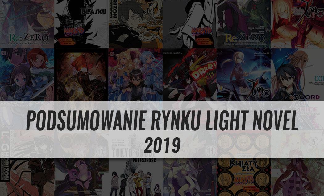 Podsumowanie rynku light novel 2019