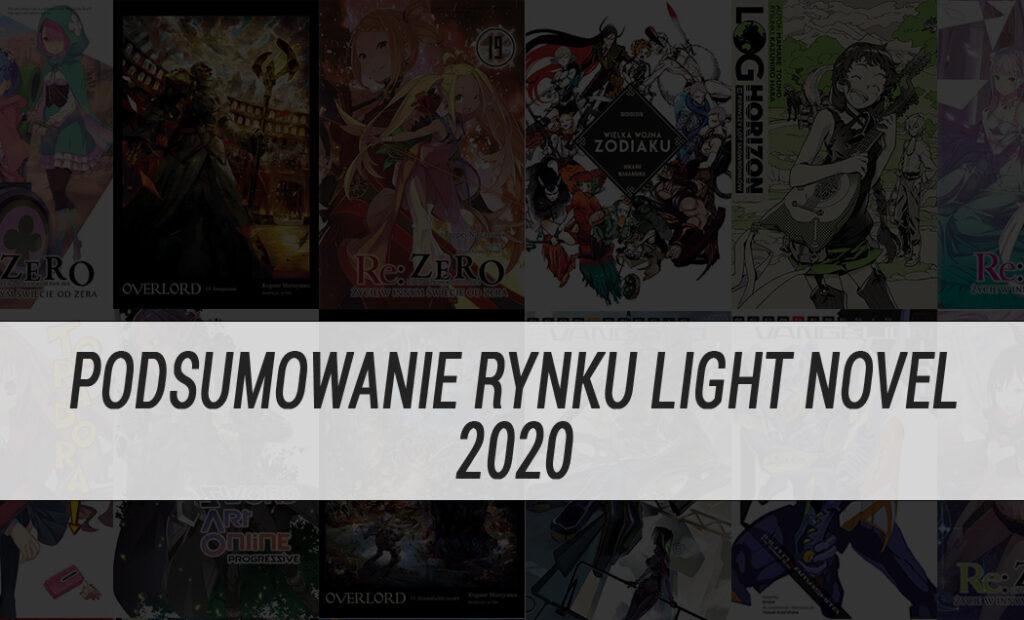 Podsumowanie rynku light novel 2020